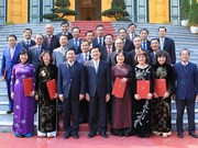 Presidente vietnamita nombra a nuevos embajadores