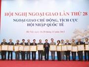 Sector diplomático vietnamita esboza próximas tareas