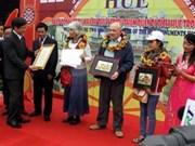 Ciudad de Hue recibe más de dos millones de turistas