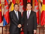 Vietnam y Cambodia fomentan solidaridad y cooperación