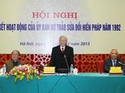 Garantizan la aplicación de nueva Constitución vietnamita