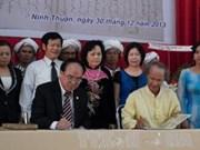 Retorna a Ninh Thuan bibliografía antigua de etnia Cham