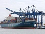 Firman contrato de alquiler del puerto marítimo vietnamita