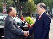 Dirigentes ratifican hermandad Vietnam – Cambodia