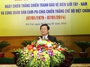 Vietnam y Cambodia celebran triunfo sobre régimen genocida