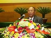 Dirigente cambodiano concluye visita a Vietnam