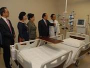 Inauguran hospital en zona sanitaria de alta técnica