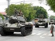 Ejército tailandés desmiente rumor sobre golpe militar