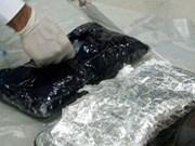 Refuerzan control de tráfico de drogas en aeropuerto de Noi Bai