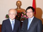 Vietnam destaca asistencia de OIEA en sector nuclear