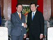 Dirigentes vietnamitas reciben a viceprimer ministro de Laos