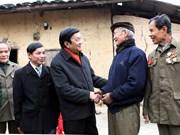 Presidente Truong Tan Sang visita Lang Son