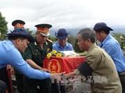 Inhuman restos de voluntarios vietnamitas caídos en Laos