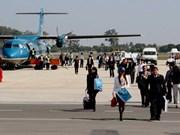 En función nueva ruta aérea entre Vinh y Vientiane
