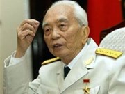 Libro ilustrado honra General Vo Nguyen Giap