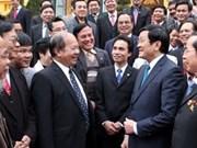 Presidente resalta logros de Unión de Asociaciones UNESCO Vietnam