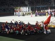 Clausuran juegos paralímpicos regionales en Myanmar