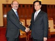 Vietnam crea entorno favorable para inversores belgas