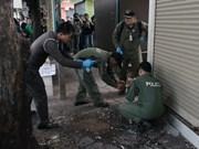 Fuerza naval descarta vinculación con explosiones en Bangkok