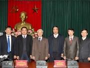 Dirigente vietnamita insta a fortalecer lucha anticorrupción