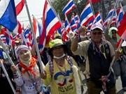 Tailandia: Manifestantes bloquearon colegios electorales