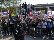 Tailandia celebrará elecciones pese a protestas