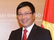 Funcionarios vietnamita y chino se felicitan por el Tet