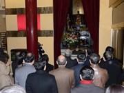 Vietnamitas en Ultramar homenajean a Ho Chi Minh en Tet
