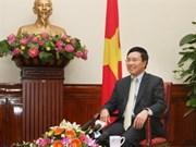 Destaca vicepremier vietnamita éxitos de política exterior