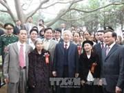 Dirigente partidista inaugura campaña forestal de primavera