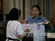 Tailandia: pocos votantes acuden a comicios