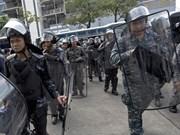 Tailandia realizará arresto de líderes manifestantes