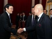Presidente vietnamita elogia contribución de empresas japonesas