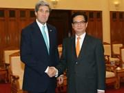 Relaciones Vietnam-EE.UU. en buena marcha