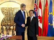 ASEAN y EE.UU. fortalecen relaciones
