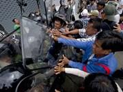 Tailandia fortalece seguridad en lugares de manifestaciones
