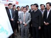 Presidente insta a Phu Yen centrar en industria pesquera