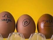 Vietnam produce huevos ricos en omega 3