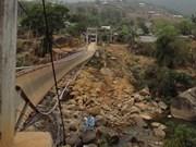 Ocho muertos por colapso de puente en Lai Chau