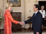 Embajador vietnamita en Australia presenta cartas credenciales