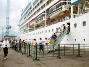 Llega crucero internacional a provincia vietnamita