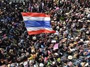 Reducirán manifestaciones en Tailandia