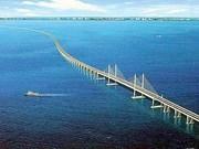Malasia inaugura puente más largo del Sudeste de Asia