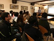 Encuentro de intercambio sobre estudio en universidad británica
