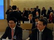 Vietnam en sesión del Consejo de Derechos Humanos