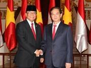 Vietnam e Indonesia aspiran a comercio de 10 mil millones de dólares