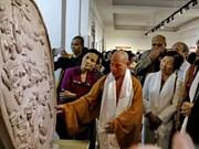 En Ciudad Ho Chi Minh exposición sobre vida de Buda