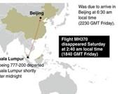 Vietnam empeña los esfuerzos para el rescate del avión malayo