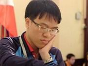 Gana Quang Liem primera partida de torneo internacional de ajedrez