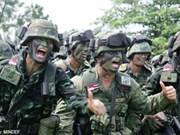 Tailandia y Singapur concluyen maniobra militar conjunta